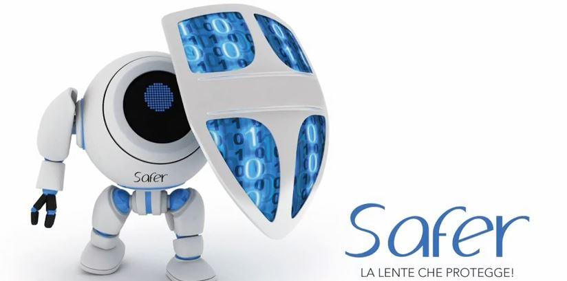 Safer la lente che protegge dalla luce blu